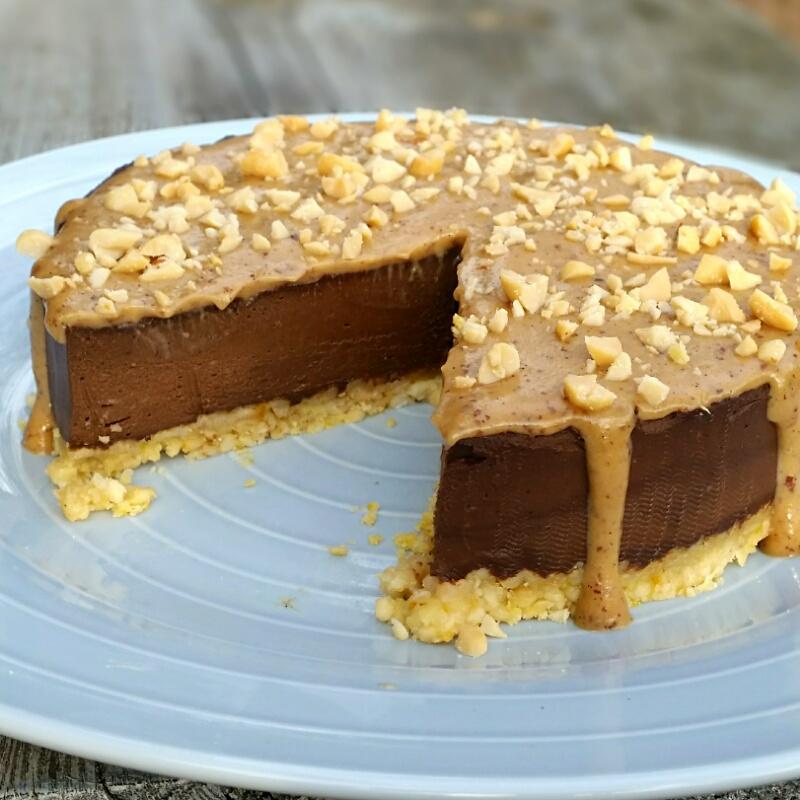 Schoko Karamell Torte San 4 Art